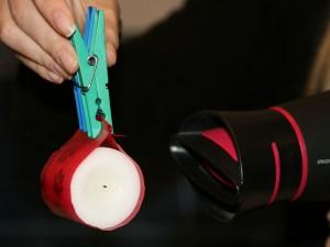 Ще один просіб гарно прикрасити свічку