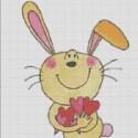 Схема для вишивки - кролик