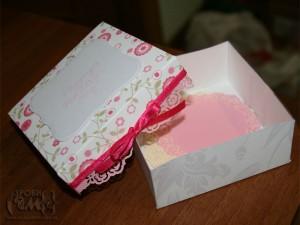 Саморобні серветки в коробочці на День Матері