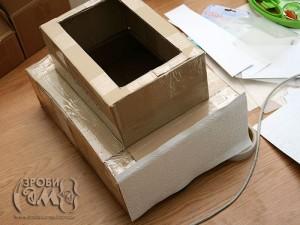 Весільна коробка-торт для листівок