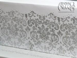 Весільна коробка-торт для листівок (частина перша)