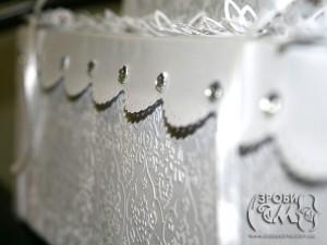 Весільна коробка-торт для листівок (частина друга)