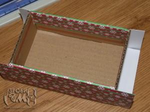 Як зробити коробочку (для новорічних прикрас і не тільки)