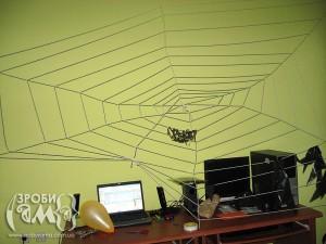 Хеловін: як зробити павутину
