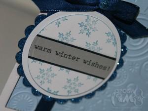 Новорічні листівки – варіант #8 Морозне Різдво
