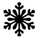 Сніжинка - новорічний настінний декор