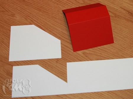Як зробити новорічний будиночок з картону (спроба #2)