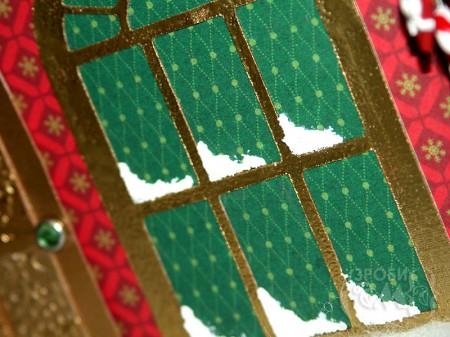 Як зробити новорічний будиночок з картону (спроба #2), частина друга - прикраси