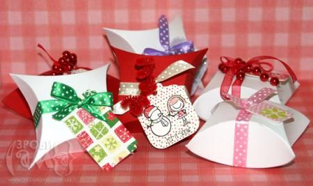 Мініатюрні упаковки для мініатюрних подарунків