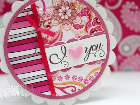 Листавка на День Валентина за скетчем Mojo Monday #123