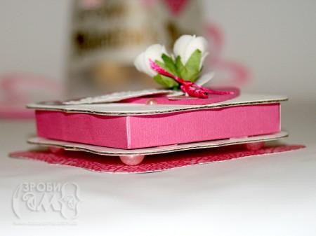 Коробочка для романтичного подарунка