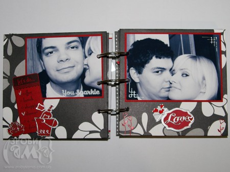 Міні альбом на День Валентина