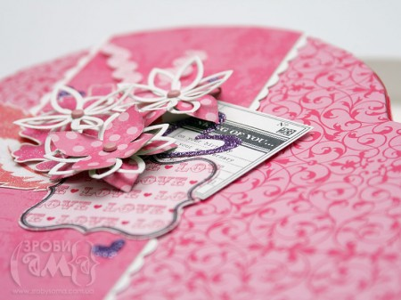 Коробочка для спогадів чи подарунка День Валентина із упаковки від цукерок