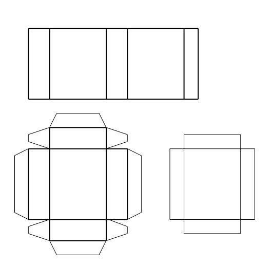 Спичечный коробок своими руками схема