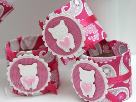 Кільця для серветок на День Валентина