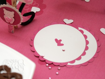 Вечірка на День Валентина - святкові трубочки та підставки для бокалів