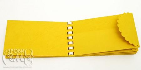 Міні альбом із саморобних конвертів (як зробити конверт на зав'язках)
