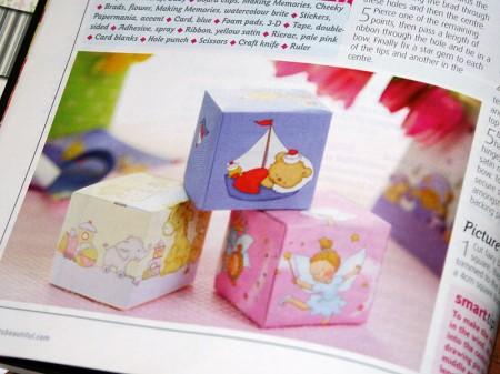 Декоративні кубики в дитячу кімнату