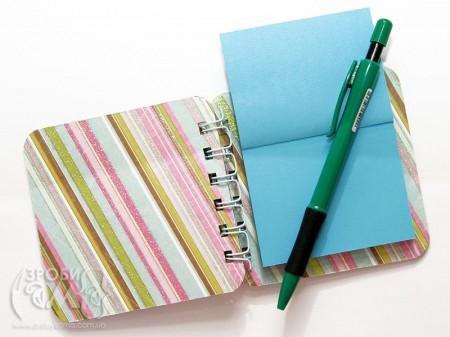 Міні записник для скрап-ідей