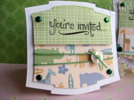 Ідея для дитячих запрошень на святкування Дня Народження