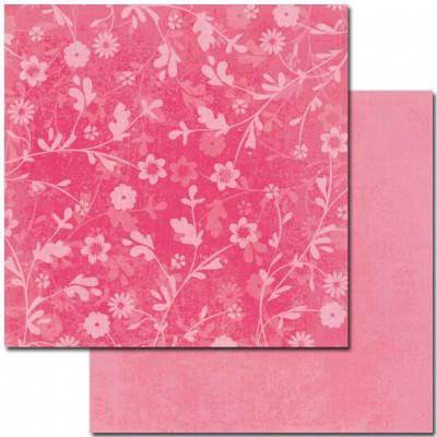 Набір картону Rose Colour 30х30см, 12 листів, двосторонній