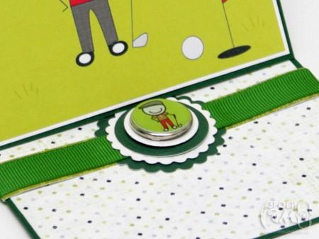 День Батька – листівка для тата, який любить грати в гольф
