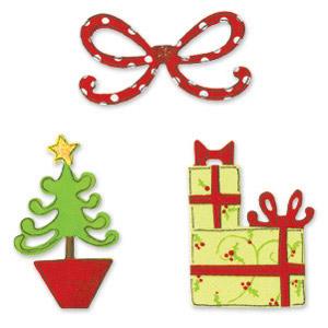 Ножі Christmas Set #5 (Sizzix), 6x6,5см, 3 шт
