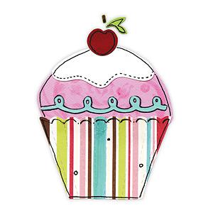 Ножі Cupcake (Sizzix), 9,5x6,5см, 3 шт