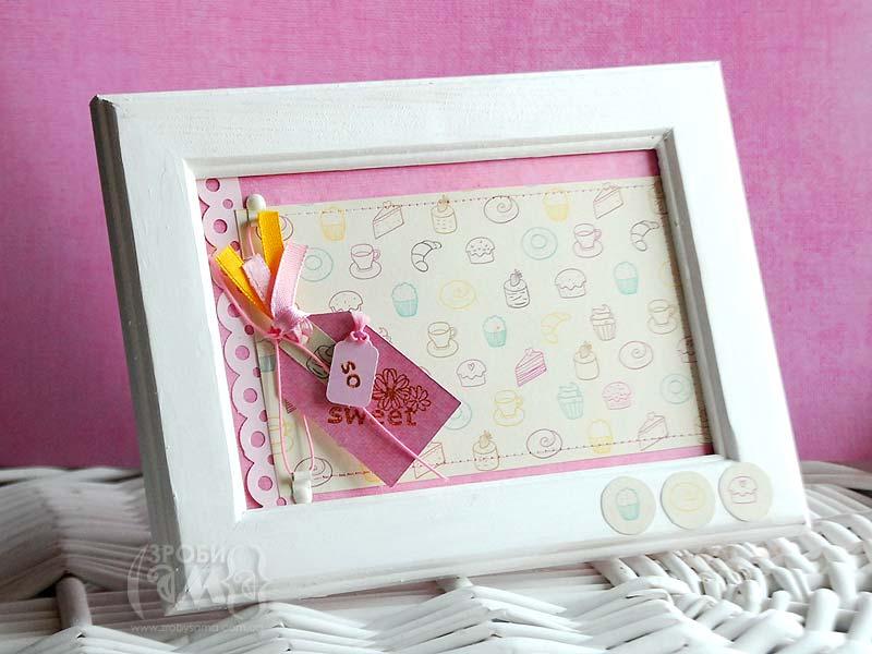 Рамочка для фото Piece of Cake