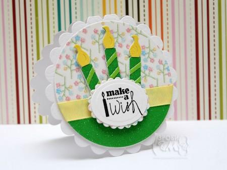 Листівка Make a Wish за скетчем Mojo Monday 154