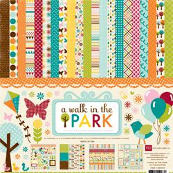 Набір для скрапбукінгу - A Walk In The Park, 30х30см