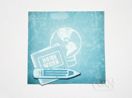 """Листівка """"Домашнє завдання з географії"""" за скетчем Mojo Monday 154"""