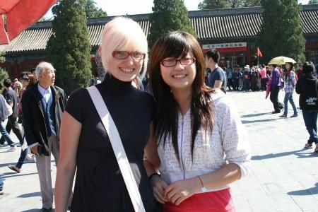Китайці люблять блондинок