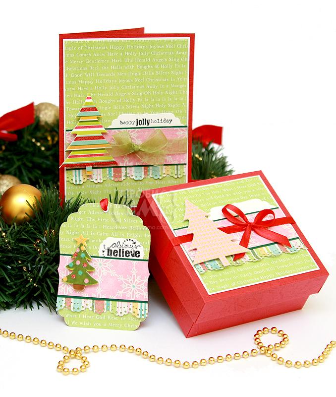 Як зробити листівку, тег та коробочку для новорічного подарунку своїми руками | Зроби Сам(А)