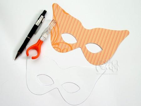 Костюми на Хелловін: саморобна маска