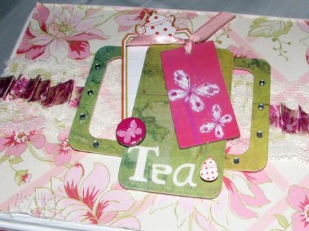 Декоруємо коробку для зберігання чаю