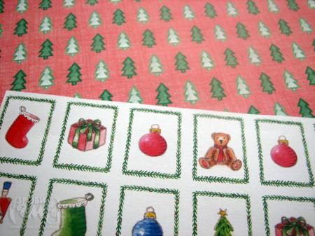 Домашній декор - дитяча різдв'яна рамка Deck the Halls