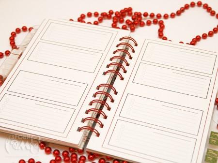 Новорічний щоденник-записник та заготовки для нього (2010)