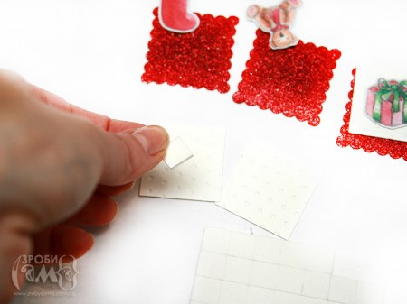 Майстер клас: новорічна листівка з паперу Deck The Halls