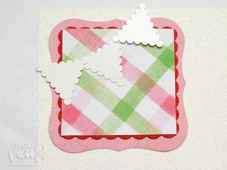 Майстер клас: новорічна листівка з паперу Deck The Halls (3)