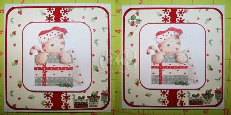 """Листівка """"Новорічні подарунки"""""""