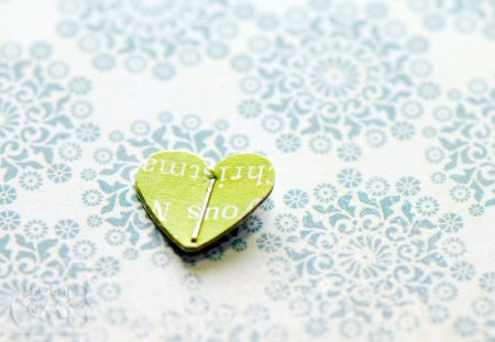 Ялинка із дирокольних сердечок від Картавенко Марини. Гостьовий пост