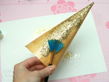 Як зробити ялинку з паперу (майстер клас)