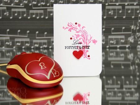 Листівки до Дня Валентина в стилі Clean & Simple
