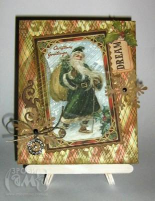Мольберт для листівки своїми руками від Бабинець Людими. Гостьовий пост