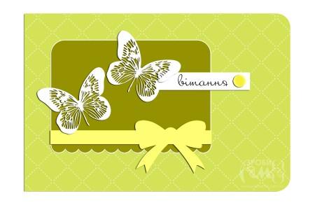 Як зробити весняну листівку до 8 Березня - скетч