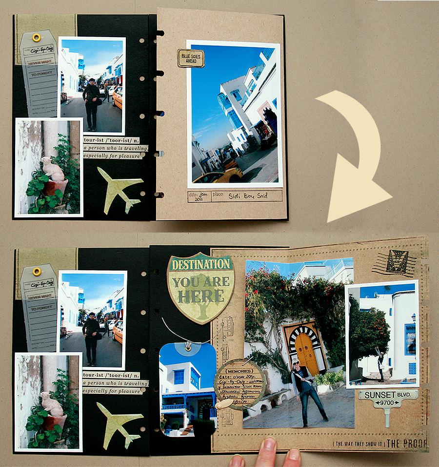 Альбом туриста - створення альбому для туристичних фотографій