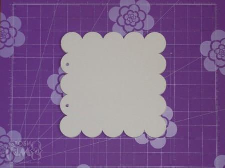 """Альбом у формі """"хмарки"""" (частина перша) від Ані"""