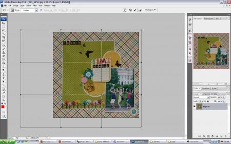 Редагуємо фото сторінок 30х30 - робимо їх ідеально квадратними