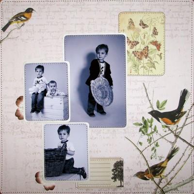 Три сімейні сторінки на стіну від Алли